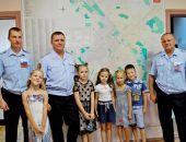 Крымские росгвардейцы пригласили в гости будущих первоклассников:фоторепортаж