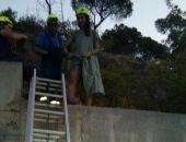 В Крыму сегодня утром спасатели дважды оказывали помощь сорвавшимся со скал туристам