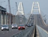 В августе по Крымскому мосту проехало более 845 тысяч автомобилей и автобусов