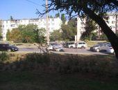 Сегодня утром в Феодосии случилось уже три ДТП, на трассе Феодосия – Керчь автомобильная пробка (фото)