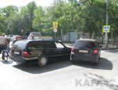 В Феодосии на ул. Победы произошло ДТП