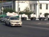 В Севастополе работает оригинальный автопоезд – развозит бочки с квасом (видео)