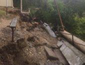 Последствия непогоды в Феодосии: рухнувшие стены, упавшие деревья, подтопленные дома (фото) (видео)