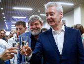 Собянин набрал 70,02% голосов на выборах мэра