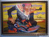 В Феодосии торжественно открыли выставку искусства Сибири (видео)