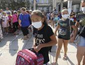 Более 4 тысяч жителей Армянска перевезли в санатории Крыма