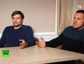 Интервью Петрова и Боширова назвали наказанием за «оставленные следы» в Солсбери
