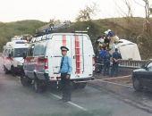 Под Грушевкой очередное ДТП: микроавтобус попал под фуру (фото)
