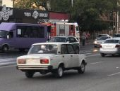 В столице Крыма случился пожар в кафе около ж.-д. вокзала (фото)