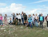 Феодосийские школьники приняли участие в экологической акции:фоторепортаж