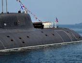 Новейшая российская подлодка впервые вышла в море