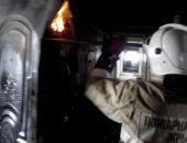 В Приморском случился пожар в гостинице