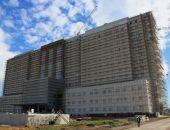 В столице Крыма новый республиканский медцентр построен уже на 50%