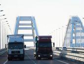 """За первую неделю по Крымскому мосту проехали более 10 тысяч """"фур"""""""