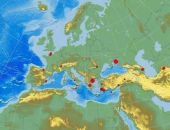 В Азовском море недалеко от Крыма произошло землетрясение
