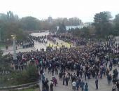 Церемония прощания с жертвами нападения на колледж началась в Керчи (фото)