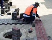 Плитку у Крымского рынка восстановят