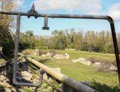 Газопровод в Феодосии за стадионом интерната в безопасности