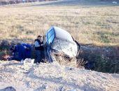 В Крыму на трассе Феодосия – Симферополь в ДТП пострадали два человека (фото)