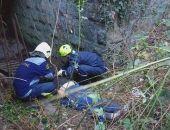 В Крыму мужчина упал с подпорной стены (фото)