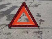Вчера на выезде из Приморского иномарка столкнулась с грузовым автомобилем