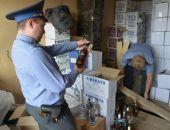 В Крым не попало 39 тыс. литров алкоголя, его задержали на Крымском мосту