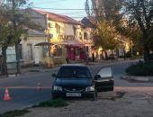 В Феодосии по улице Карла Маркса произошло ДТП