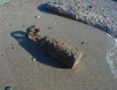 В Орджоникидзе вчера на пляже нашли две авиационные бомбы