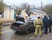В Феодосии пожарно-спасательный отряд проводит учения:фоторепортаж