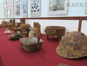 Выставка экспонатов войны 1941-1945 годов в Феодосии :фоторепортаж