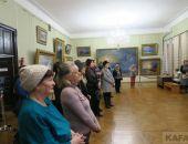 В феодосийской картинной галерее Айвазовского торжественно открыли выставку Юнге (видео):фоторепортаж