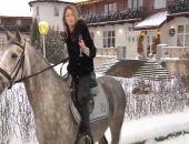 Депутат Поклонская поздравила всех с Новым годом на коне и с шампанским