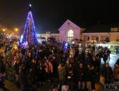Феодосийцы встретили Новый год на Привокзальной площади (видео)