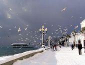 Завтра на Крым надвинется южный циклон: очень сильный ветер, мокрый снег, шторм