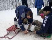 Вчера в районе Ангарского перевала пять человек получили травмы, катаясь с горок