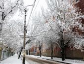 Снежный рождественский выходной в Феодосии