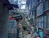 На крымском курорте обвалилась опорная стена, сель сошел на жилые дома (фото)