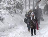 В Крыму в ближайшие два дня ожидаются дождь со снегом, гололедица и шквальный ветер