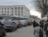 Из-за поломки электросети в центре Симферополя транспортный коллапс