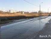 В Керчи водоканал устроил новогодний каток