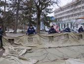 В Симферополе сворачивают пункты обогрева