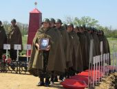 В Ленинском перезахоронили советских солдат