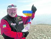 Крымчанин первым среди украинцев покорил высочайшие вершины мира