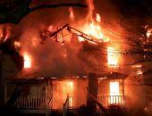 В Коктебеле сгорел дом