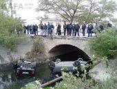 Два автомобиля упали в Байбугу:обновлено