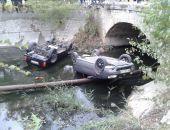 Видео с места аварии на реке Байбуга в Феодосии