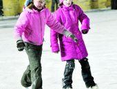 В Симферополе детдомовцев бесплатно научат кататься на коньках