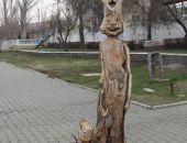 Скульптура Феодосии стала жертвой вандалов