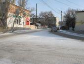 В Феодосии дороги посыпают реагентами