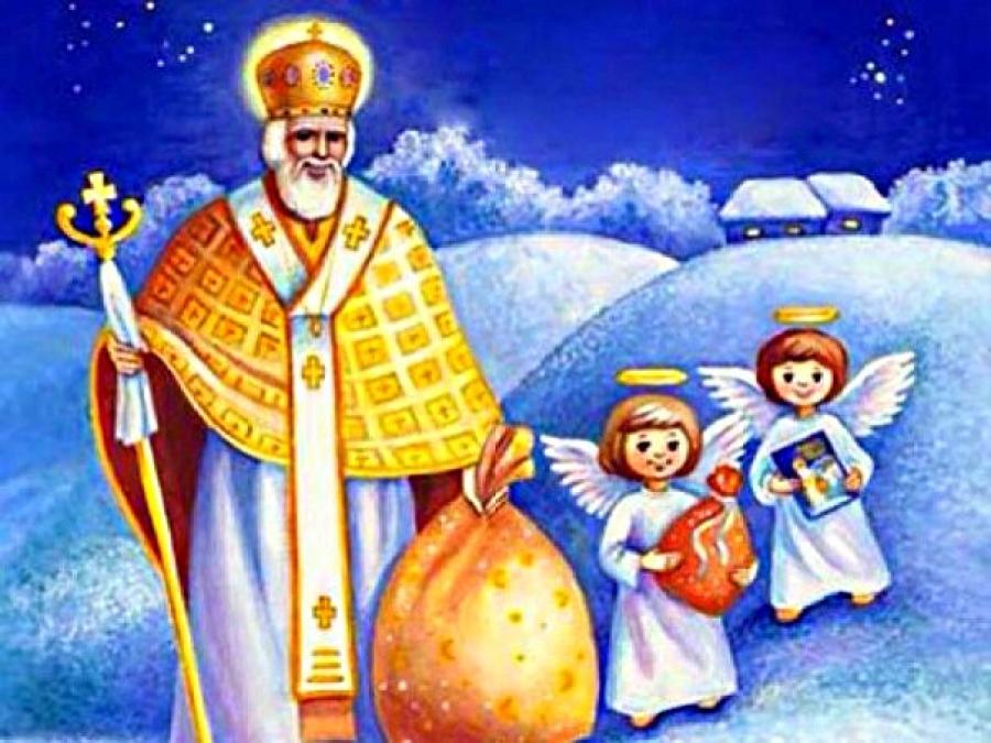 Николай чудотворец с праздником фото предназначен для